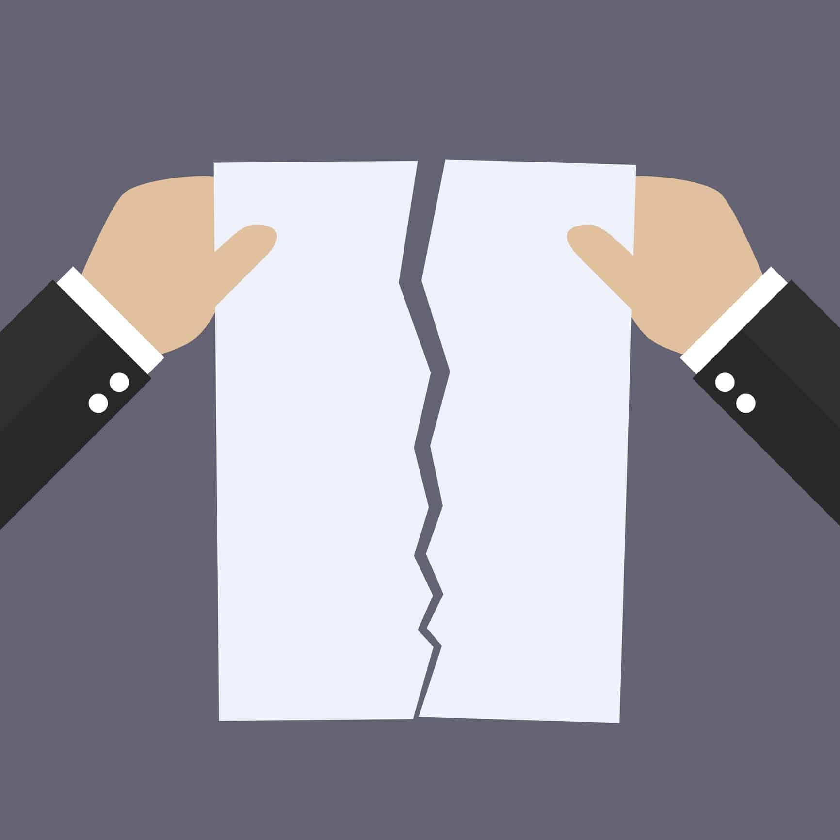 Résiliation pour non-paiement des cotisations