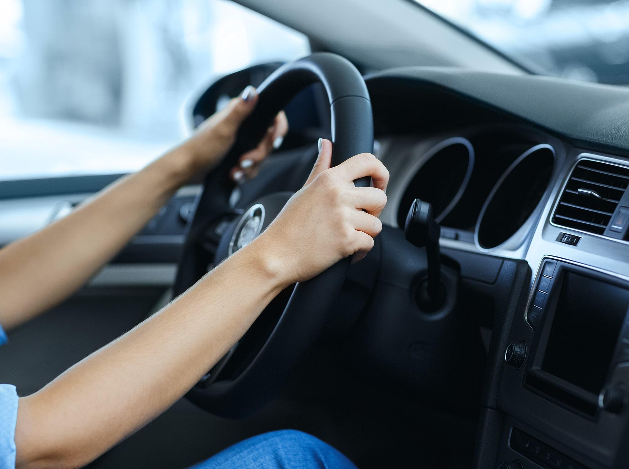 Conduire une voiture d'occasion avant achat